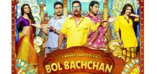 Bol Bachchan Hindi Movie Release Date with Cast Crew & Reviews