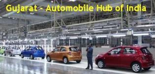 Gujarat Auto Hub - Gujarat New Automobile Hub of India