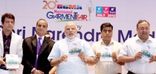 National Garment Fair Ahmedabad 2012 - Gujarat India