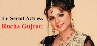 Rucha Gujrati Pics - Gujarati Actress and Hindi TV Serial Actress Photo Gallery