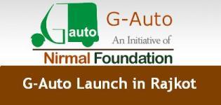G Auto Rajkot - Auto on Call - Fleet Auto Rickshaw Launch in Rajkot Gujarat