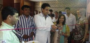 Pawan Shankar Inaugurates Rajkot Fashionista Exhibition July 2012