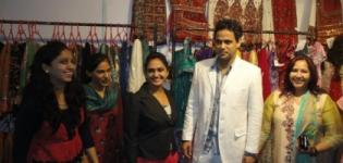 Aakruti Creation in Fashionista Fashion & Lifestyle Exhibition Rajkot - July 2012