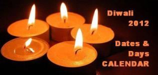 Diwali Festival 2013 Date India - Diwali 2013 Dates and Days Indian Calendar Holidays