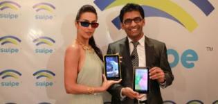 Malaika Arora Khan Launches SWIPE Telecom 3D Tablet in Mumbai India