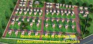 Residential Plots in Dholera SIR - An Opportunity to Invest in Dholera