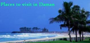 Best Places to Visit in and around Daman Gujarat India