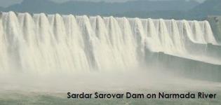 Sardar Sarovar Dam Narmada Photos Pics Images Pictures in Gujarat India