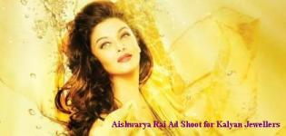 Aishwarya Rai Latest Ad Shoot for Kalyan Jewellers