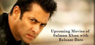 New Upcoming Movies of Salman Khan with Release Date