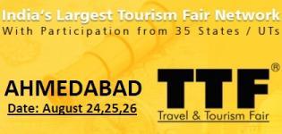TTF Travel and Tourism Fair 2012 in Ahmadabad Gujarat India