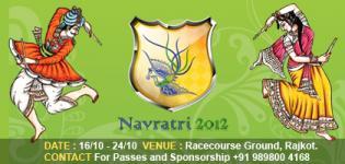Surbhi Navratri Raas Mahotsav 2012 Rajkot