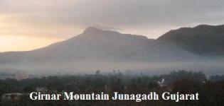 Girnar Mountain Junagadh Gujarat India Information - Photos