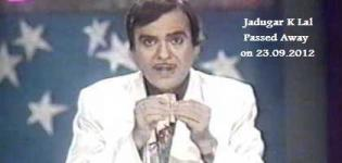 Jadugar K Lal Passed Away - Famous Magician and King of Magic Show is No More