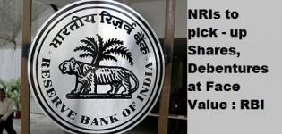 RBI allow to purchase Shares, Debentures at Face Value to NRIs