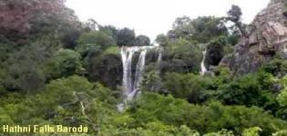 Hathni Falls Baroda Gujarat - Hathni Mata Temple Vadodara