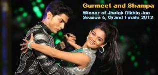 Gurmeet and Shampa - Jhalak Dikhla Jaa Season 5 Winner in Grand Finale on 30 Sept 2012