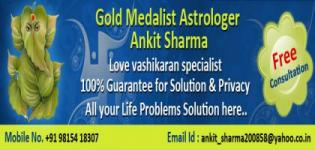 Astrologer Ankit Sharma - Chandigarh Punjab