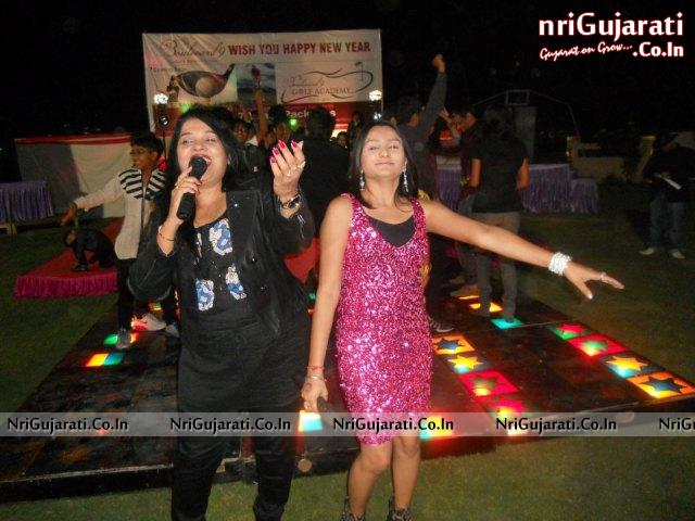 31st new year theme party at boulevard 9 resort nadiad gujarat