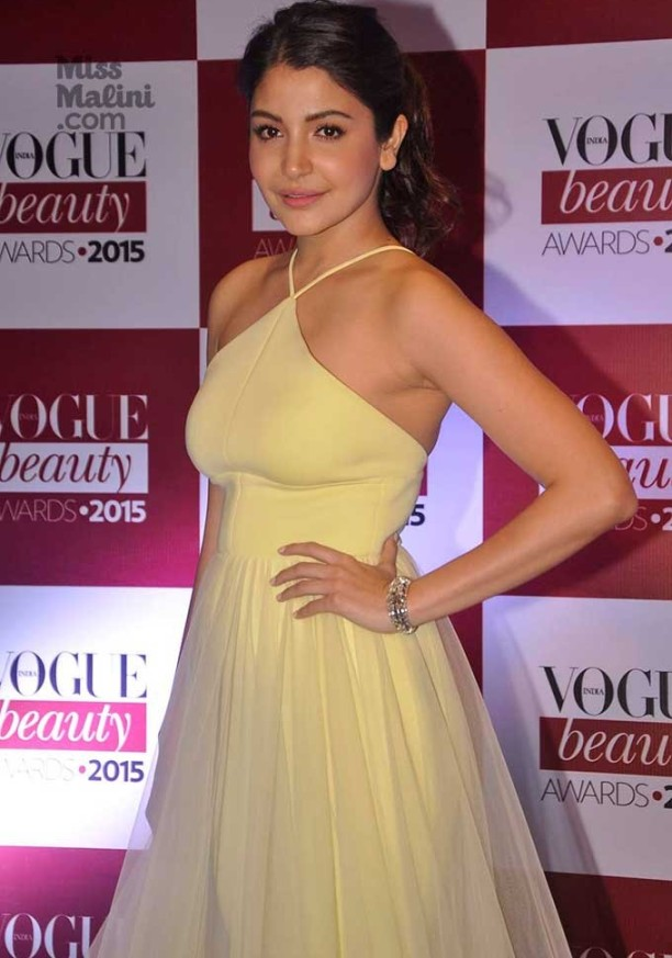 Anushka Sharma And Virat Kohli Photos During Vogue Beauty