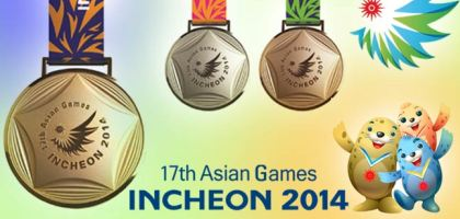Asian Games Year Wise