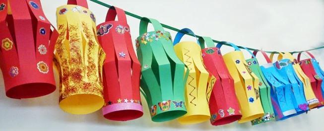 Diwali Paper Lantern Craft Aakash Kandil Designs For