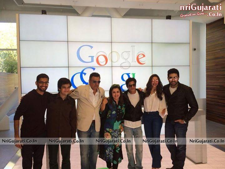 HAPPY NEW YEAR Movie Team at Google Head Quarter - Bollywood Stars in ...