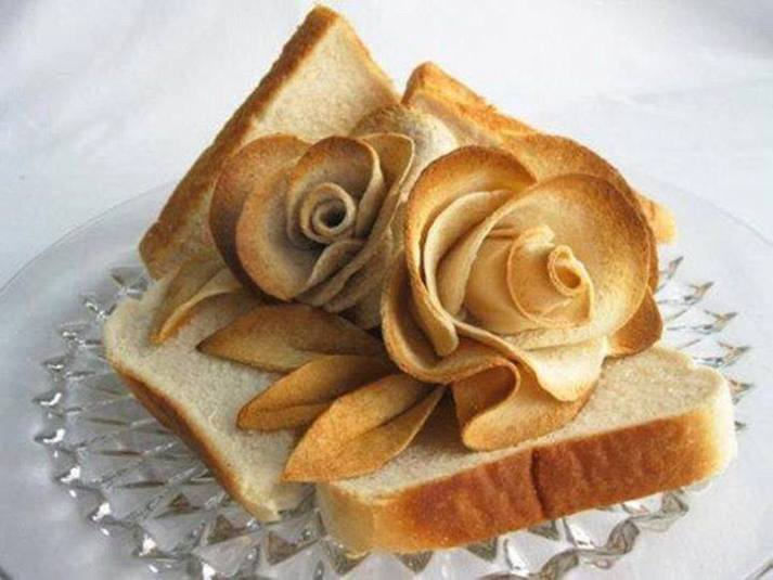 Bread Art And Craft Ideas Creative Bread Dough Food
