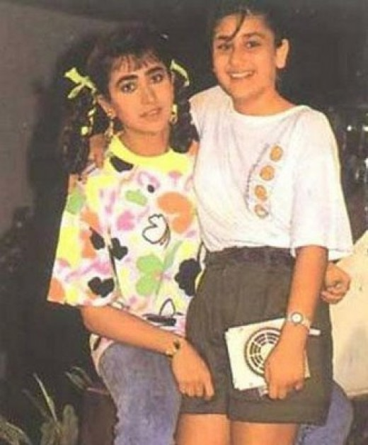 Kareena Kapoor Childhood Pics - Bollywood Celebrity Rare ...