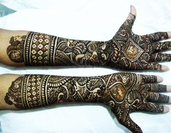 Bridal Mehndi In Ahmedabad : Best bridal mehndi design artist in ahmedabad gujarat