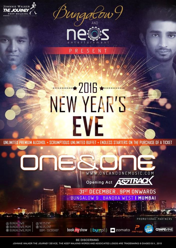Bungalow 9 Mumbai: Neos Entertainment Presents New Years Eve Party At