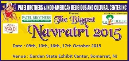 Patel Brothers India House Navratri Garba 2015 At Somerset New Jersey Patel Brothers India