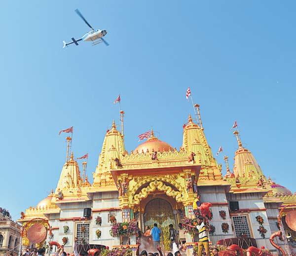 Shree Swaminarayan Golden Temple In Vadtal Gujarat